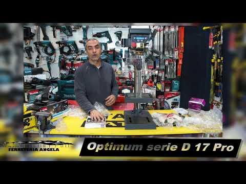 Taladro de sobremesa quantum, Optimum D 17 pro montaje de en taladro de columna Bohrmaschine, drill