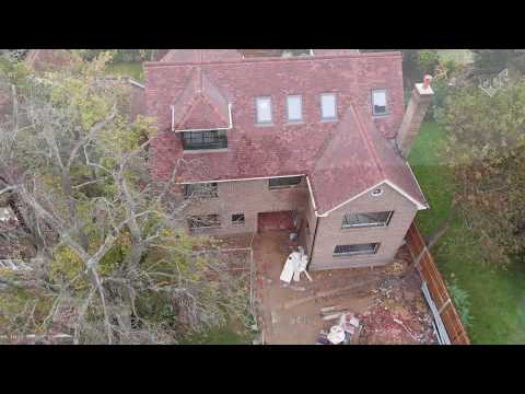 HD TIMELAPSE - Roof Tiling with Clay Tiles and CureIt GRP - Hertfordshire UK