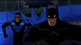 Batman & Nightwing pursue Red Hood | Batman: Under the Red Hood