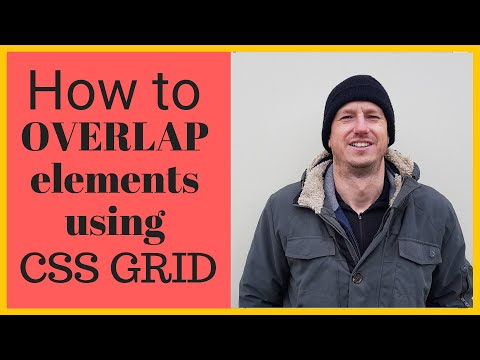 How To Place One Element On Top Of Another Using CSS Grid Rather Than Resorting To Position Absolute