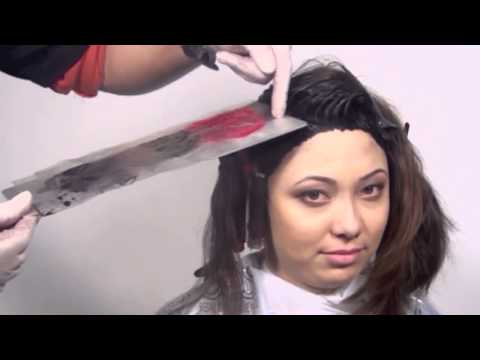 Коммерческая стрижка + многослойное окрашивание  Александр Чуриков  parikmaxer tv парикмахер тв