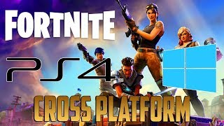 (MARCH 2018 Working) Fortnite: How To Play Cross Platform Pc With Ps4 Players