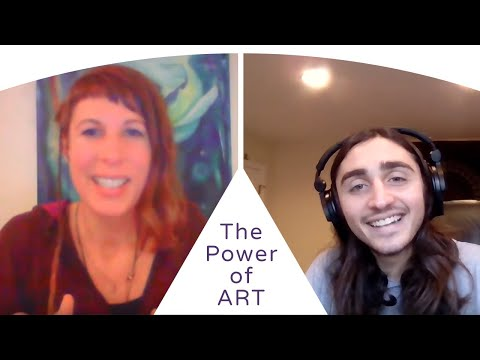 Gabe Salomon and Wieteke Koolhof on the creation power of ART