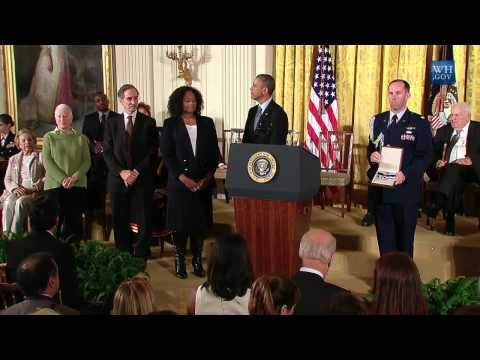 Obama Presents Medal Of Freedom To 19 Recipients