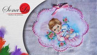 Bebê em Tecido – Sonalupinturas