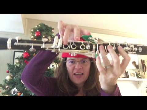 """We Wish You a Merry Christmas"" Tutorial for the Clarinet"