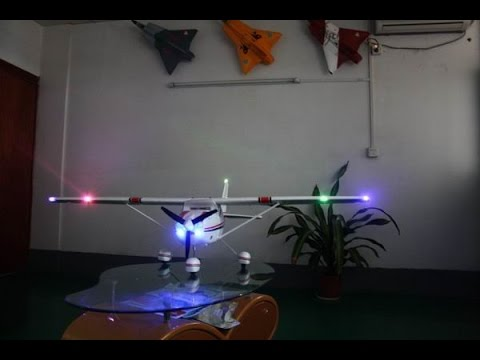 Epo 182 Light Aircraft With Led Lighting Rc Cessna 182