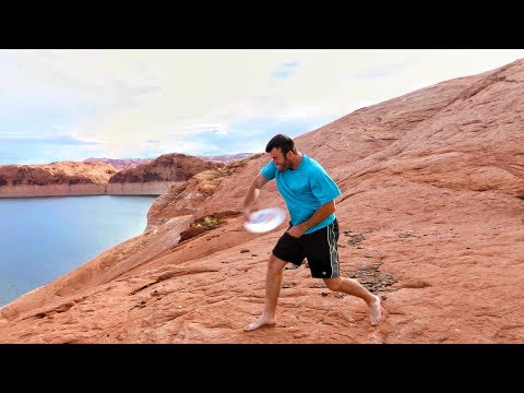 Frisbee Trick Shots in 4K   Brodie Smith with DevinSuperTramp