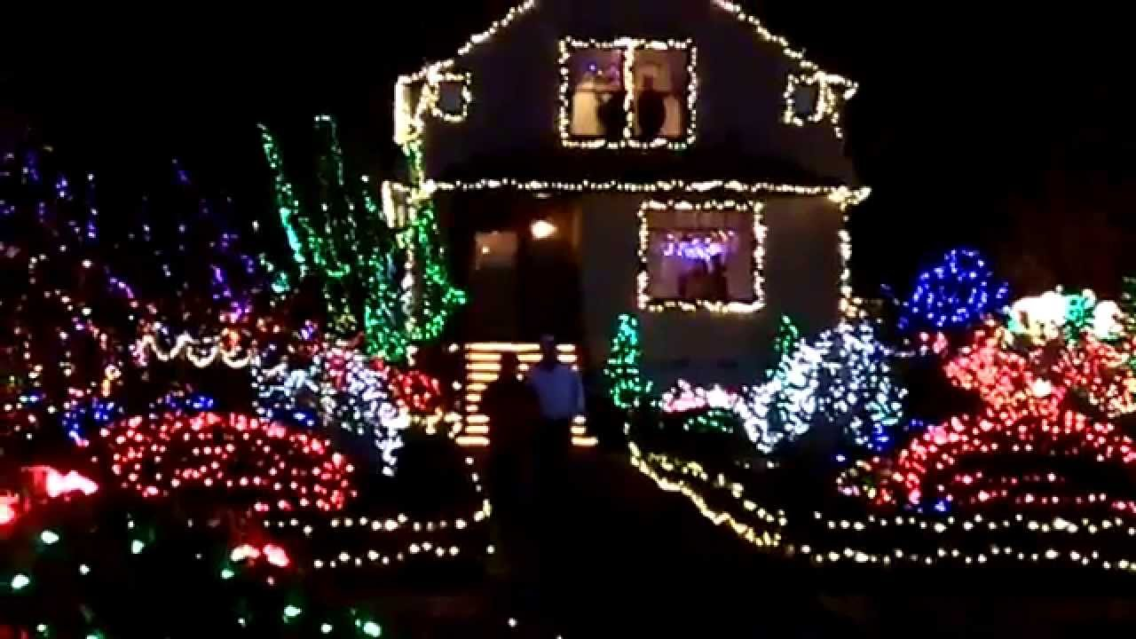 Holiday Light Display - Shore Acres - Oregon - YouTube