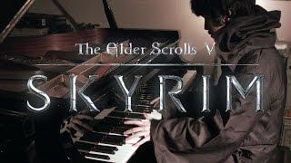 TES V: Skyrim - Dragonborn, Main Theme - Virtuosic Piano Sol...