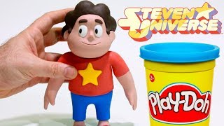 Steven Universe Play Doh Cartoons & Stop Motion for kids