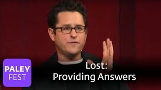 Lost - J.J. Abrams on Providing Answers (Paley Center)
