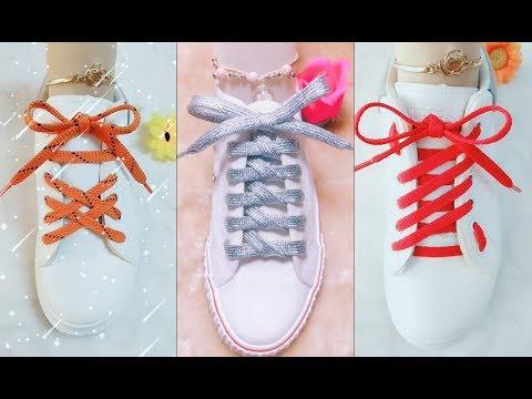 25 Cách Buộc Dây Giày Cực Đẹp | Creative Ways to fasten Shoelaces