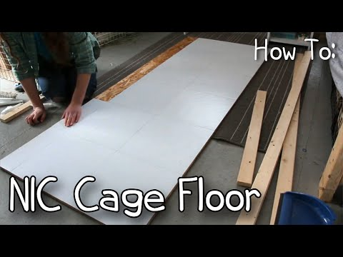 How To Make a NIC/C&C Rabbit Cage Floor/Level