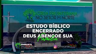 LIVE - IPMN  - ESTUDO BIBLICO    -  TEMA :  UM POUSO TRANQUILO.  REV. FABIO BEZERRA