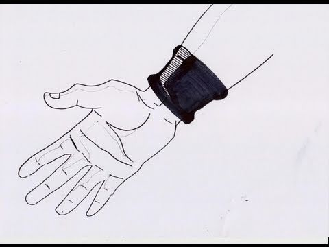 No 206 How To Draw Dbz Right Hand ドラゴンボールz 右手