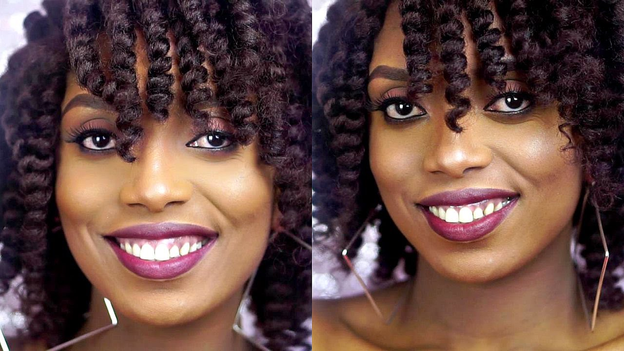 How To Crochet Braids With Marley Hair Wig Tutorial - YouTube