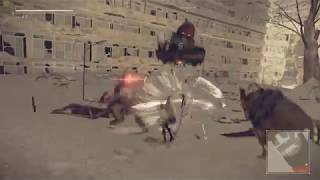 NieR : Automata , помогаем Деволе и Пополе . [C/D]