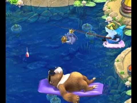 FARM FRENZY GONE FISHING ALL UPGRADE' S FREE & GOLD RANK