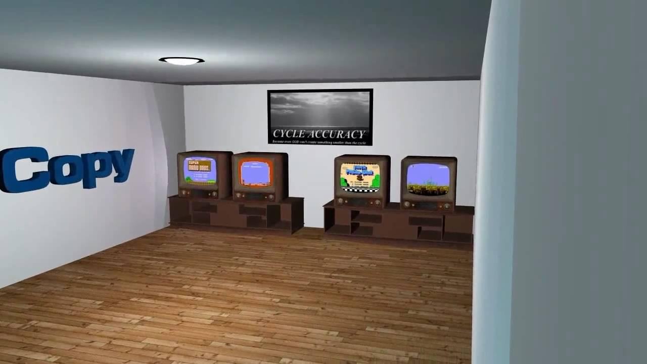 Virtual Gaming Room Volcano