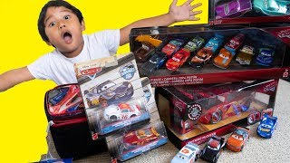 Unboxing New Disney Cars Toys Complete Thomasville Racing Legends Diecast Toy Review