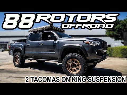 Repeat 2019 Toyota Tacoma Lift Fox 2 0 IFP Front & 2 0