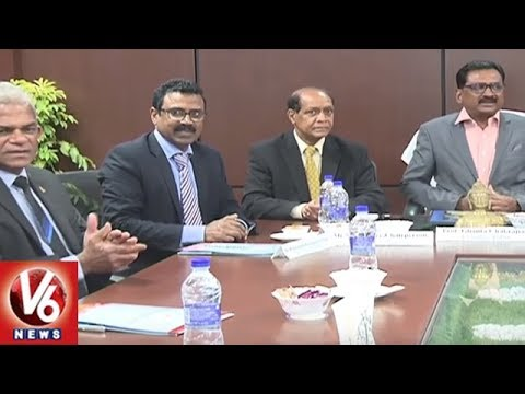 Delegates From Public Services Commission Of Mauritius Visits TSPSC Office | Hyderabad | V6 News