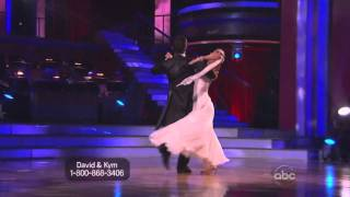 David Arquette Kim Johnson dancing with the stars week 1