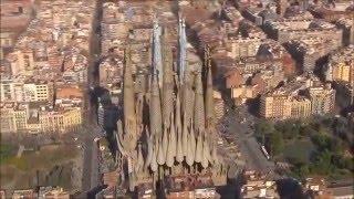 Визуализация Собора Святого Семейства(После 133 лет работ строительство Собора Святого Семейства (Sagrada Familia) в Барселоне наконец вышло на финальный..., 2016-02-02T11:39:45.000Z)