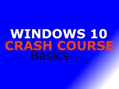 Desktop Support, Windows 10 Crash Course Basics