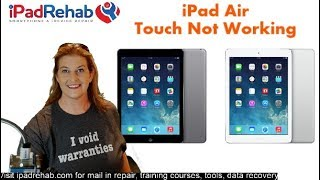 Troubleshooting iPad Air No Touch Motherboard Problem