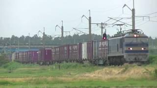 奥羽本線 貨物列車ほか2019 0606まとめ
