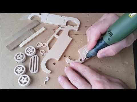 Как сделать машину из фанеры своими руками для детей