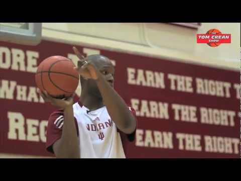Calbert Cheaney Teaches Margo how to Shoot a Jump Shot