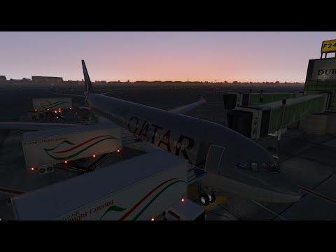 [X-Plane 11] Doha (OTHH) - Dubai (OMDB) | A330