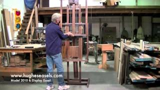 Hughes Easels Model 2010 And Display Easel