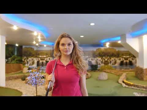 Такое вот получилось видео на закрытом мини-гольфе Казани, с одной из наших моделей