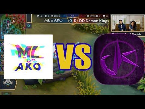 ML O AKO Vs DD Demon Kings (BO3) Just ML League 4 Playoffs