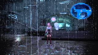 Final Fantasy XIII-2: Rain effects are stupid looking