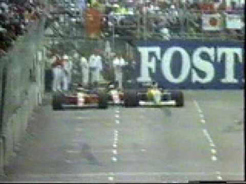 F1 1991 - Alain Prost Nelson Piquet Jean Alesi - Phoenix