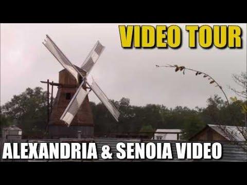 The Walking Dead Season 9 Alexandria & Senoia Video Tour - See Around Senoia & Alexandria