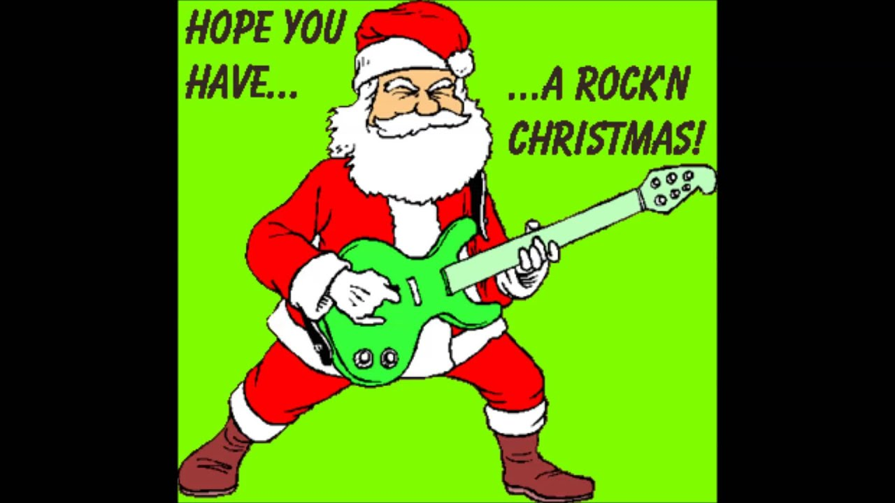 We Wish You A Merry Christmas Rock Version Audio Youtube