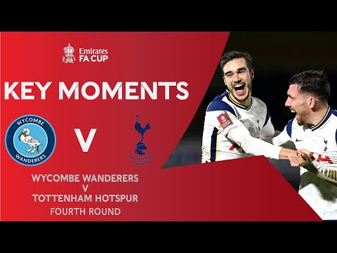 Wycombe Tottenham Goals And Highlights
