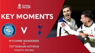 Wycombe Wanderers v Tottenham Hotspur | Key Moments | Fourth Round | Emirates FA Cup 2020-21