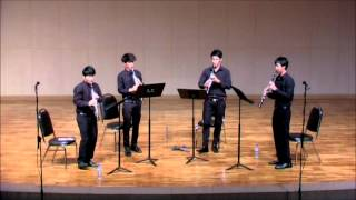 Super Mario Bros. for 4 Clarinets - Koji Kondo(b.1960) (CU Clarinet Ensemble)