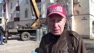 Сюжет от 11.04.2019: Ремонт кровли на Советской 22