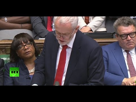 LIVE: Theresa May & Jeremy Corbyn debate Queen's Speech