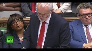 LIVE: Theresa May & Jeremy Corbyn debate Queen's Speech thumbnail