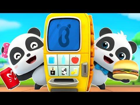 Máy bán hàng tự động ma thuật | Biệt đội siêu cứu hộ | Kiki khám bệnh| Hoạt hình thiếu nhi | BabyBus