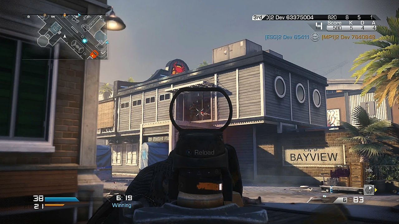 Call Of Duty Ghosts Bayview Gameplay New Trolley Cod Ghost